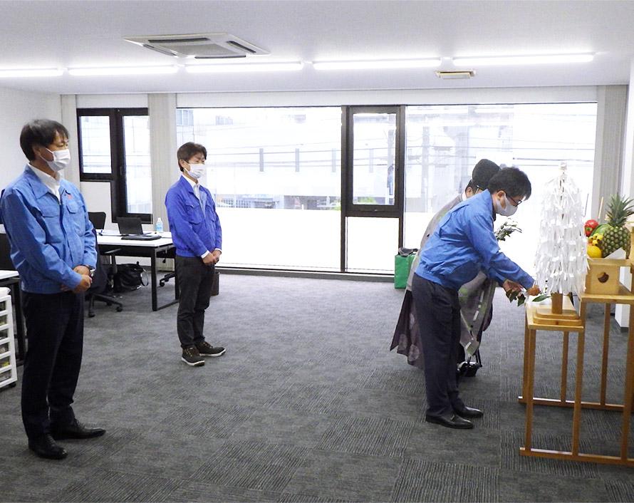 福岡支店の事務所